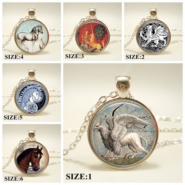 Snow Griffin Pendant, Griffin Necklace Resin Pendant, Griffin Jewelry,  EverQuest, Magic Jewellery