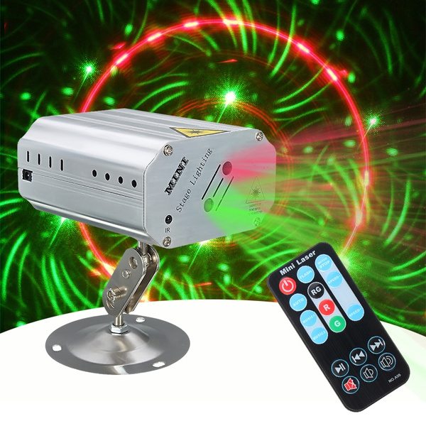 Picture of Laser Auto Strobe Stage Light Dj Club Disco Party Effects Lighting Voice Control