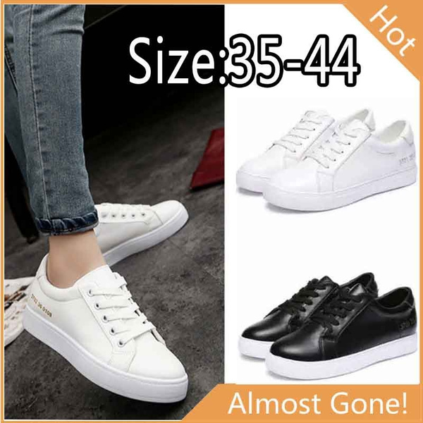 Picture of New Fashion Women White Shoes Casual Unisex Shoes Flats Sneakers Menwomen Outdoor Shoes Lovers Sport Shoes Size35-44