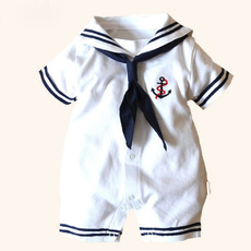 Boy, babygrowsnewborn, Outfits, sailor