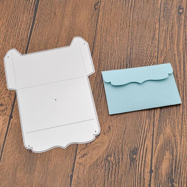 Metal Envelope Gift Box Cutting Die DIY Scrapbooking Embossing Photo Album Decor