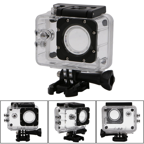Picture of Waterproof Case Underwater Diving Sports Box Camera Accessories For Sjcam Sj4000 Lon