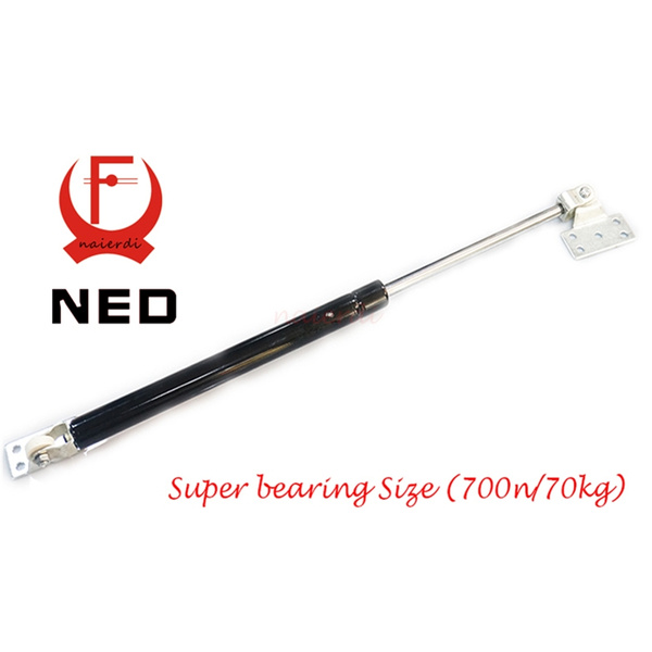 NED 700N /70kg Force Door Lift Support Furniture Gas Spring Lift Cabinet  Door Kitchen Cupboard Hinges Lid Stays Soft Open/Close