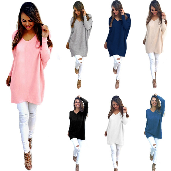 Fashion, Long Sleeve, Dress, winterloosesweater