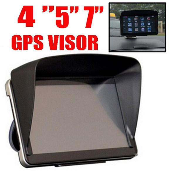 Xukey® GPS Sat Nav Sun Shade Visor For 4 3