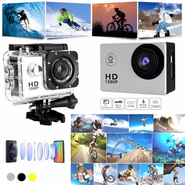 Picture of Sj4000 1080p Mini Helmet Sports Dvr Dv Diving Action Waterproof Underwater 30m Camera Tools Gifts Accessories