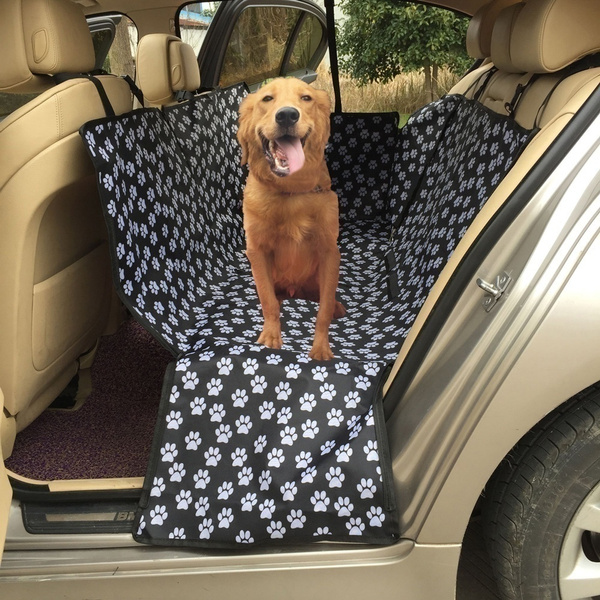 Pet Dog Car Rear Back Seat Carrier Cover Mat Waterproof Convenient Pets  Travel Car Mat Pet Cushion Covers Seat Covers Cargo Liner Non Slip Backing