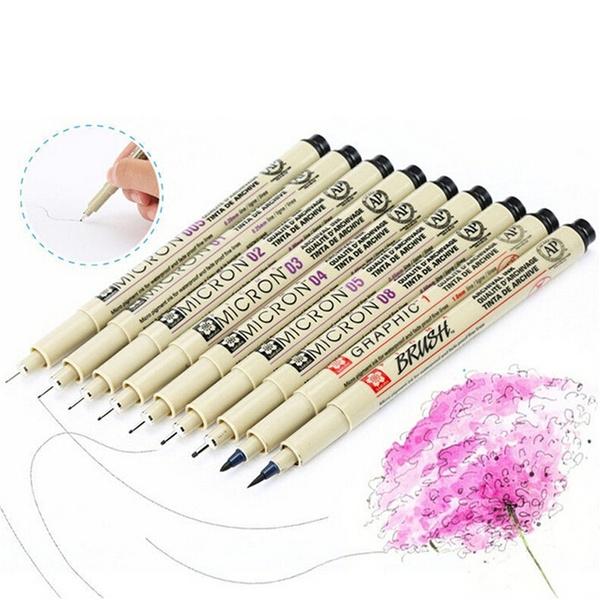 Art Supplies, micronpen, art, paintingpen