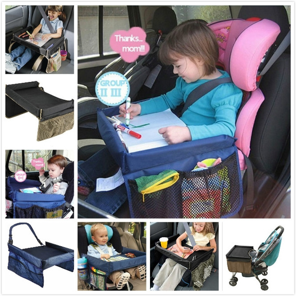 Pleasant Children Toddlers Car Safety Belt Travel Play Tray Waterproof Table Baby Car Seat Cover Harness Buggy Pushchair Snack Tv Laptray Gmtry Best Dining Table And Chair Ideas Images Gmtryco
