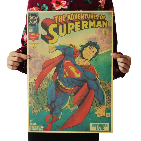 kraft, Superhero, Home Decor, Wall Posters