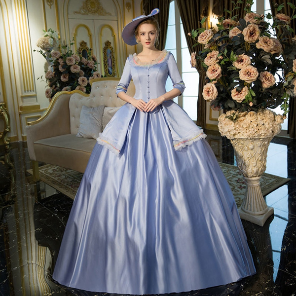 Image result for blue historical gowns