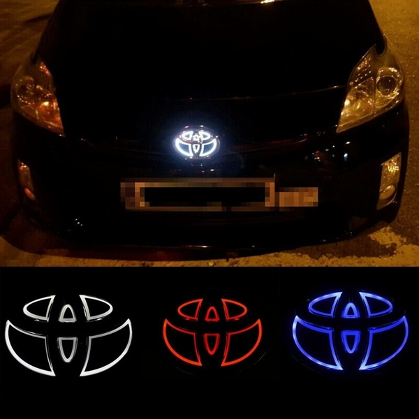 Led Light Badge Lamp Emblem Sticker Car