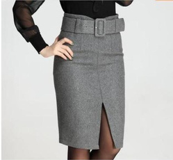 pencil, long skirt, pencil skirt, skirts female
