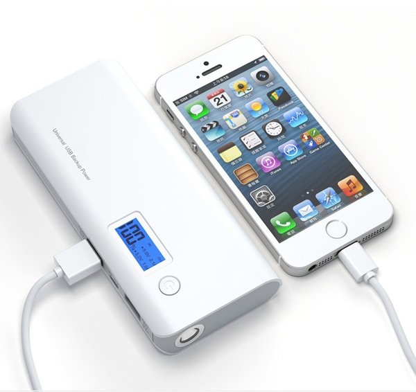 power bank with display