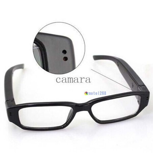 Picture of Mini Hd 720p Spy Camera Glasses Hidden Eyewear Dvr Video Recorder Cam Camcorder Color Black