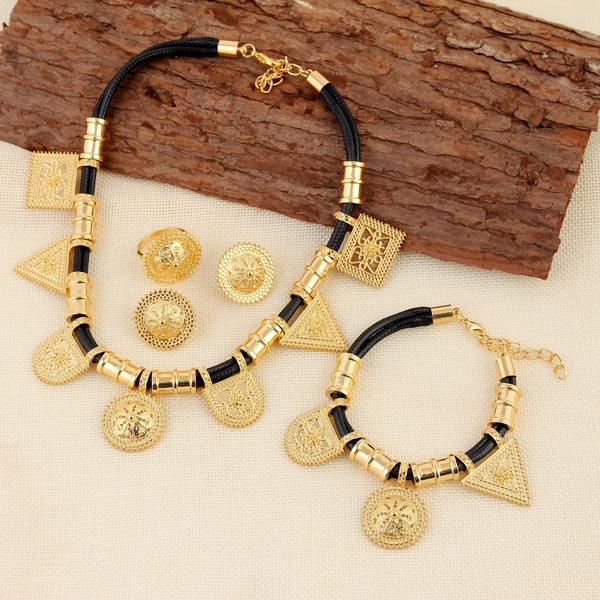 Wish Wholesale Eritrea Habesha Ethiopian Jewelry Gold Necklace