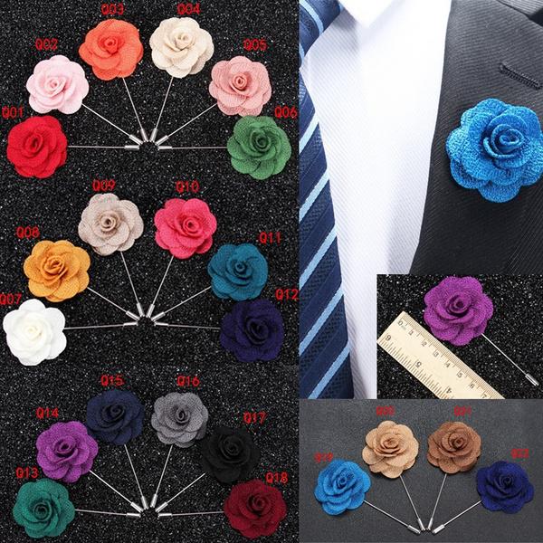 fashionbrooch, Flowers, Rose, Pins