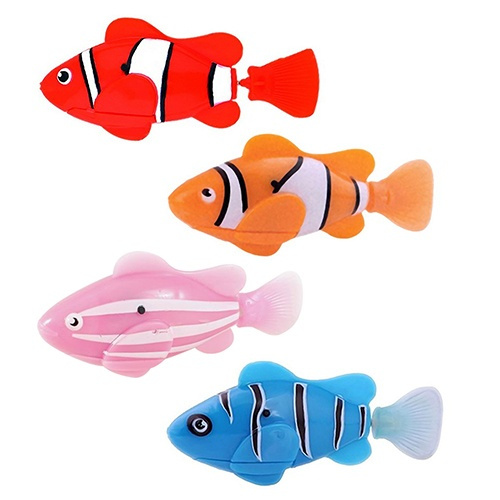 Wish Cute Electronic Pets Toy Fish Tank Robot Fish Swimming