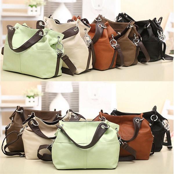 Picture of Women Shoulder Bag Handbag Leather Casual Convenience Populor Wild Zipper
