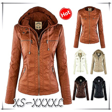winter coat, Coat, ladiescoat, leather jacket