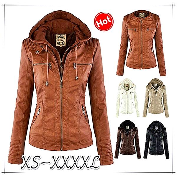 winter coat, Coat, ladiescoat, leather jacket