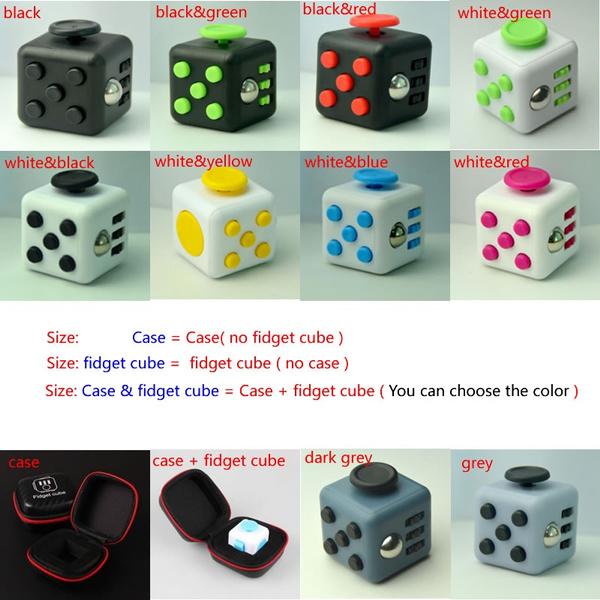 Wish | New Fidget Cube Portable Fashion Creative Toys Christmas Gifts