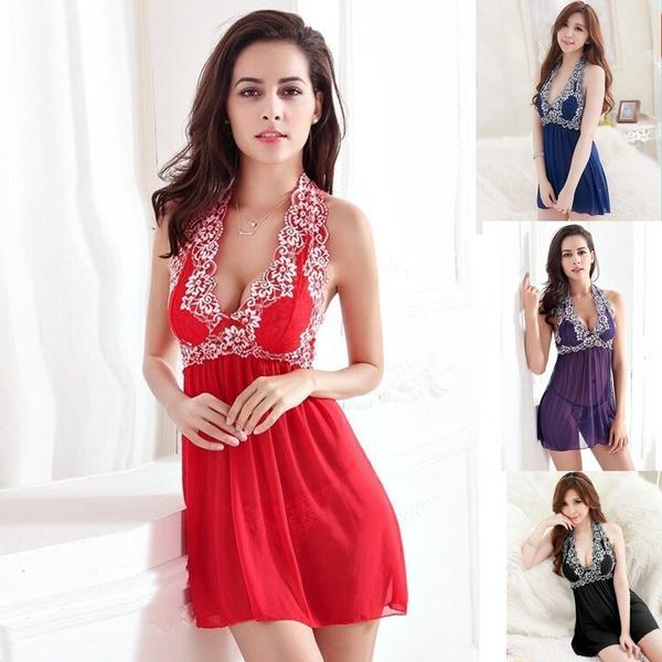 9deba81bd2a Fire Shop New Fashion Plus Size Women Lady Sexy Lace Lingerie ...
