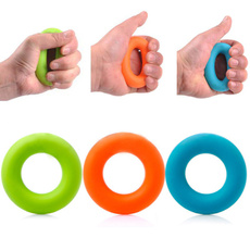 Hand Gripper Ball Fingers Exerciser Grip Strengthener Silicone Squeezer Exquisit
