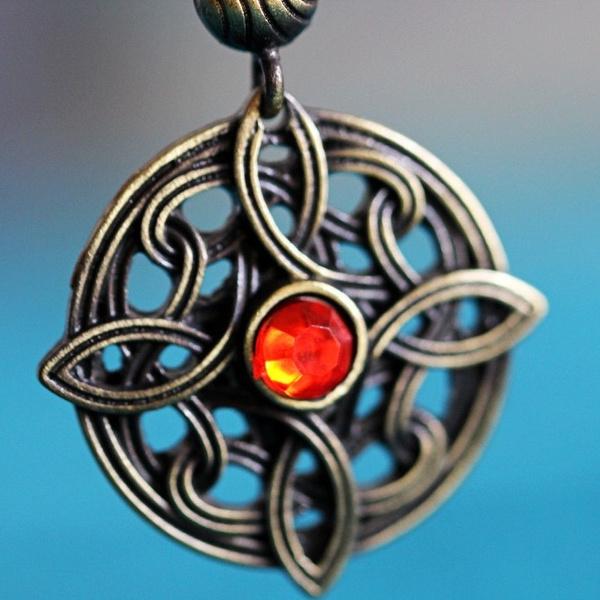 Amulet of Mara pendant necklace elder scrolls inspired skyrim jewelry