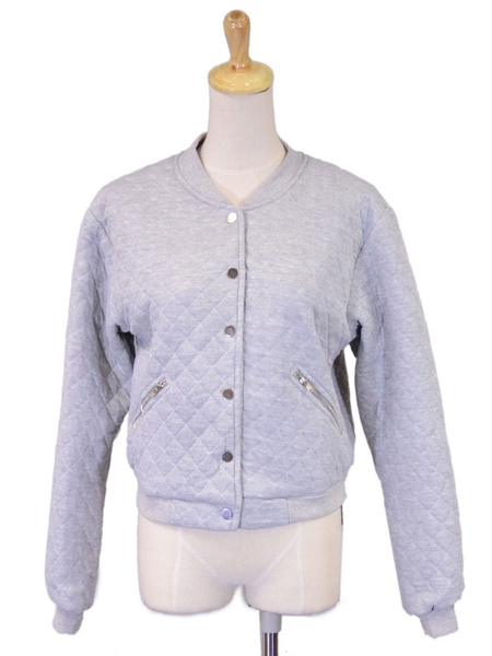 usa-pillow-quilt-long-sleeved-fully-lined-button-up-cropped-jacket by wish