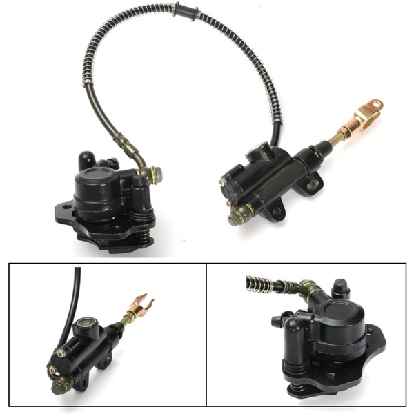 Rear Brake Caliper /& Master Cylinder For 50cc 70cc 90cc 110cc 125cc ATV Quad