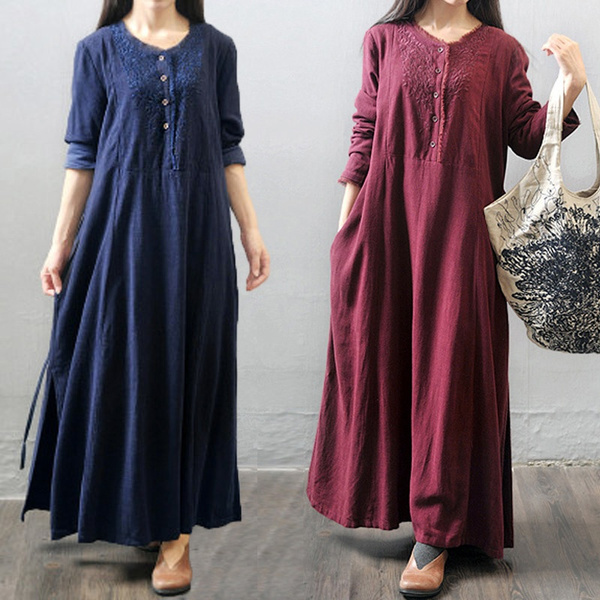Women, Floral print, Shirt, Long Sleeve