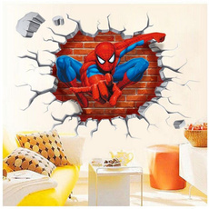 3D Dimensional Spider-Man Home Decoration Wall Stickers