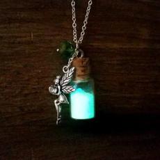 Dark, tinkerbellglownecklace, Jewelry, tinkerbellfairynecklace