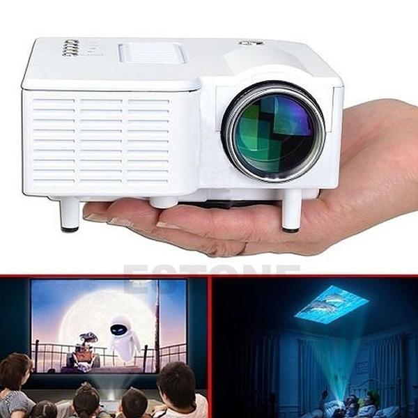Wish   Mini Projector 1080P HD Multimedia LED TV VGA HDMI USB For ...