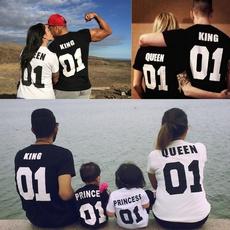 King, Shorts, Shirt, Family