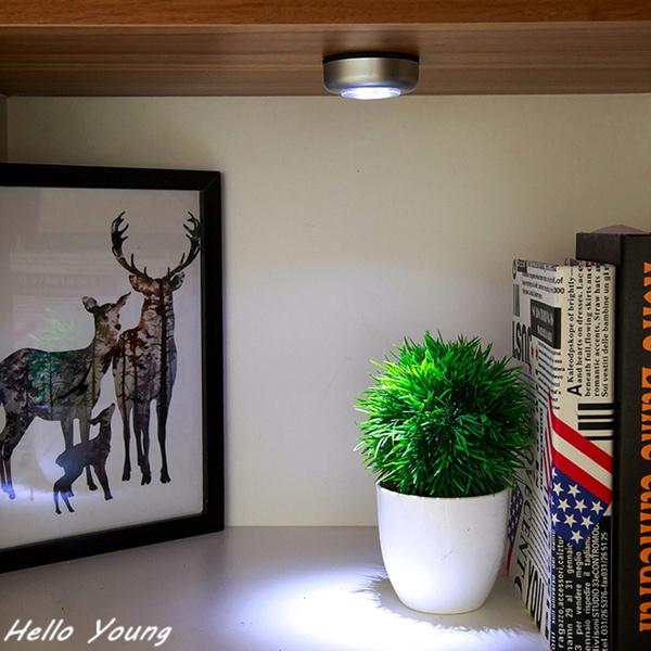 Wish Creative Sticky Light Bedroom Bedside Lamp LED Night Light - Clap lights for bedroom