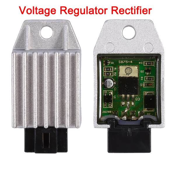 Motorcycle Motor Bike 12V Voltage Regulator Rectifier 4 pin