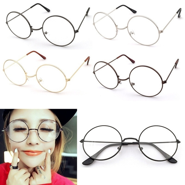 Picture of Vintage Round Glasses Men Harry Potter Glasses Frame Retro Luxury Eyewear Clear Glasses Women Optical Frame