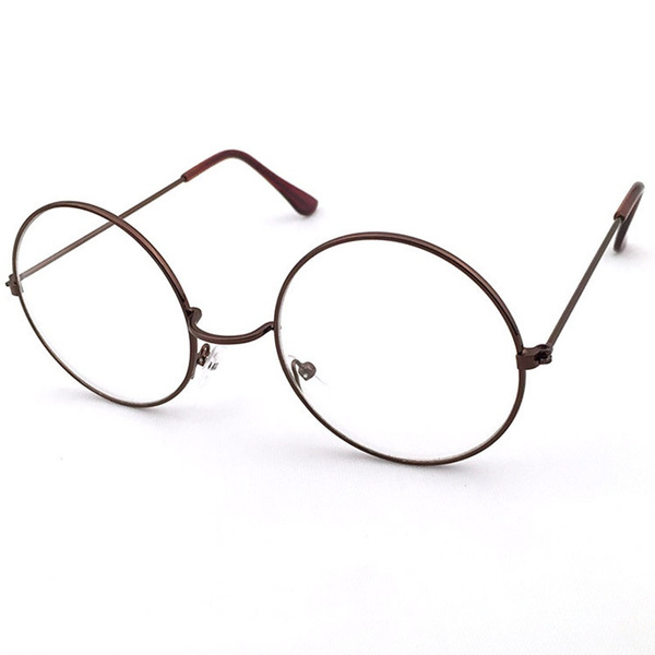 wish vintage round glasses men harry potter glasses frame retro luxury eyewear clear glasses women optical frame