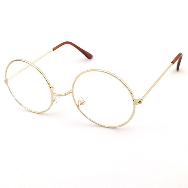 Wish | Vintage Round Glasses Men women Glasses round metal Frame ...