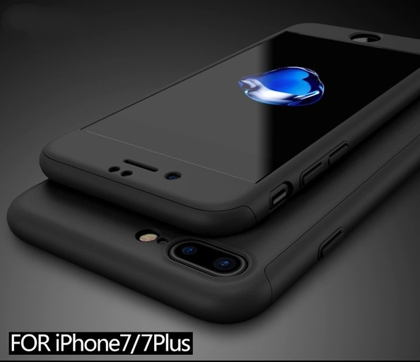 Picture of Nonskid Sleek 360 Full Protection Tempered Glass Case For Iphone 6/6s/6 Plus/6s Plus Iphone 7/iphone 7 Plus