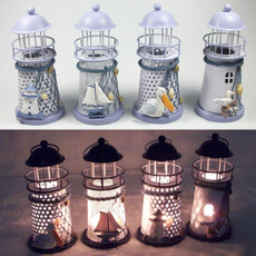 Vintage, lighthouse, Candle Holders & Accessories, Home Decor