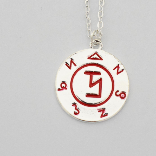 Supernatural Angel Banishing Sigil Pendant Necklace - Castiel, Enochian,  Sam Dean Winchester, Demon Angel Protection