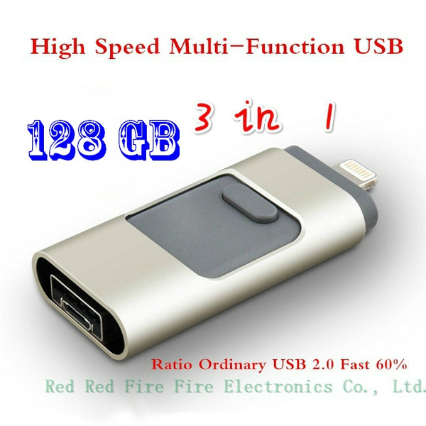 Picture of I-flashdrive Usb Flash Drive Hd Pendrive Lightning Data For Phone Pad Usb Interface Pen Drive For Pc 1-128gb