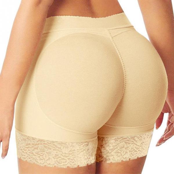 571a280988c7 Woman Fake Ass Padded Panties Women Body Shaper Butt Lifter Trainer ...