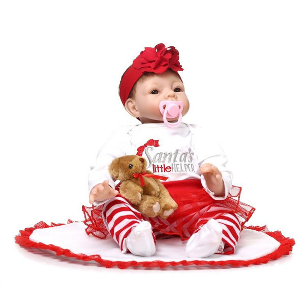 26e7c2e47 boneca reborn American Girl Doll bebe reborn 55 cm silicone reborn ...