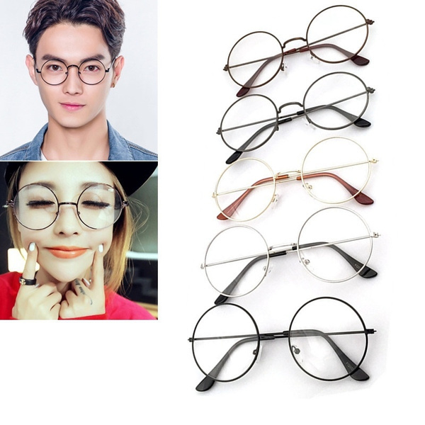 Picture of Vintage Round Glasses Men Harry Potter Glasses Frame Eyewear Clear Glasses Women Optical Frame Round Glasses