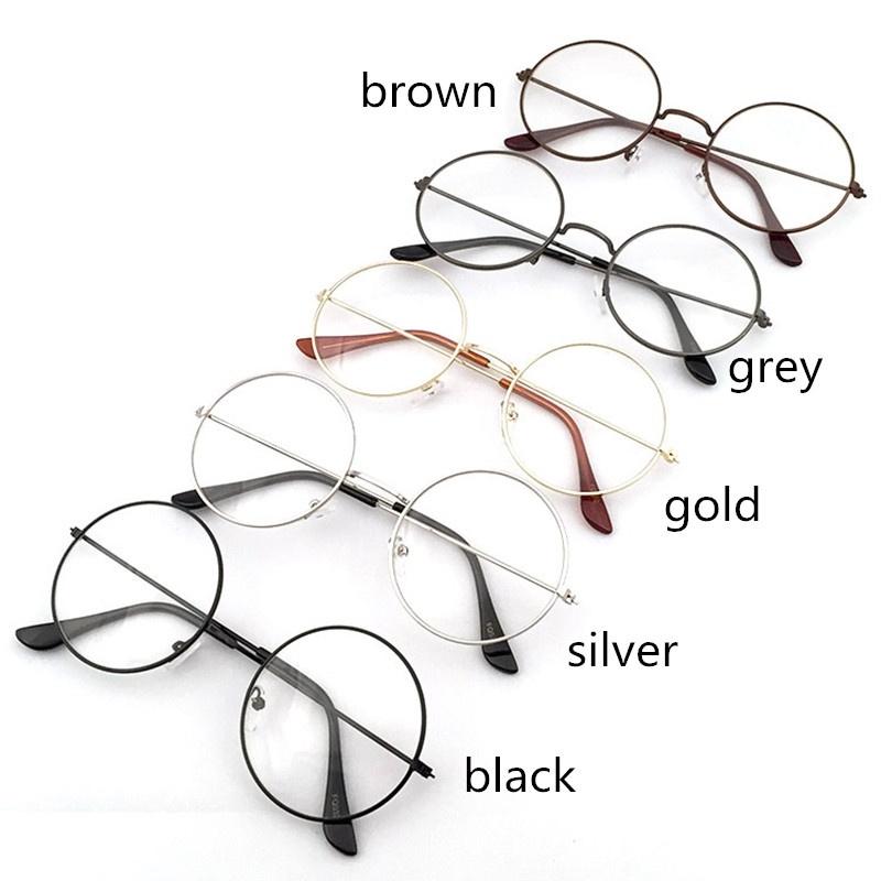 d0006bfdb1 Vintage Round Glasses Men Harry Potter Glasses Frame Eyewear Clear Glasses  Women Optical Frame Round GlassesEC0119111