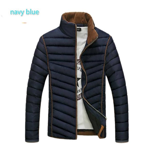 f37ee2115c 2016 Hot Selling Men Fashion Parka Casual Warm Mens Winter Down Jackets  Slim Fit Factory-Direct-Clothing Giubbotti Uomo Inverno